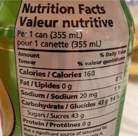 C-up - Informations nutritionnelles - fr