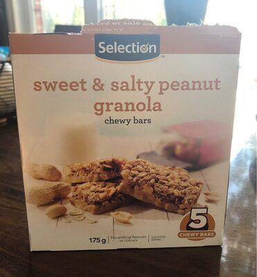Granola sucré et salé aux arachides - Product