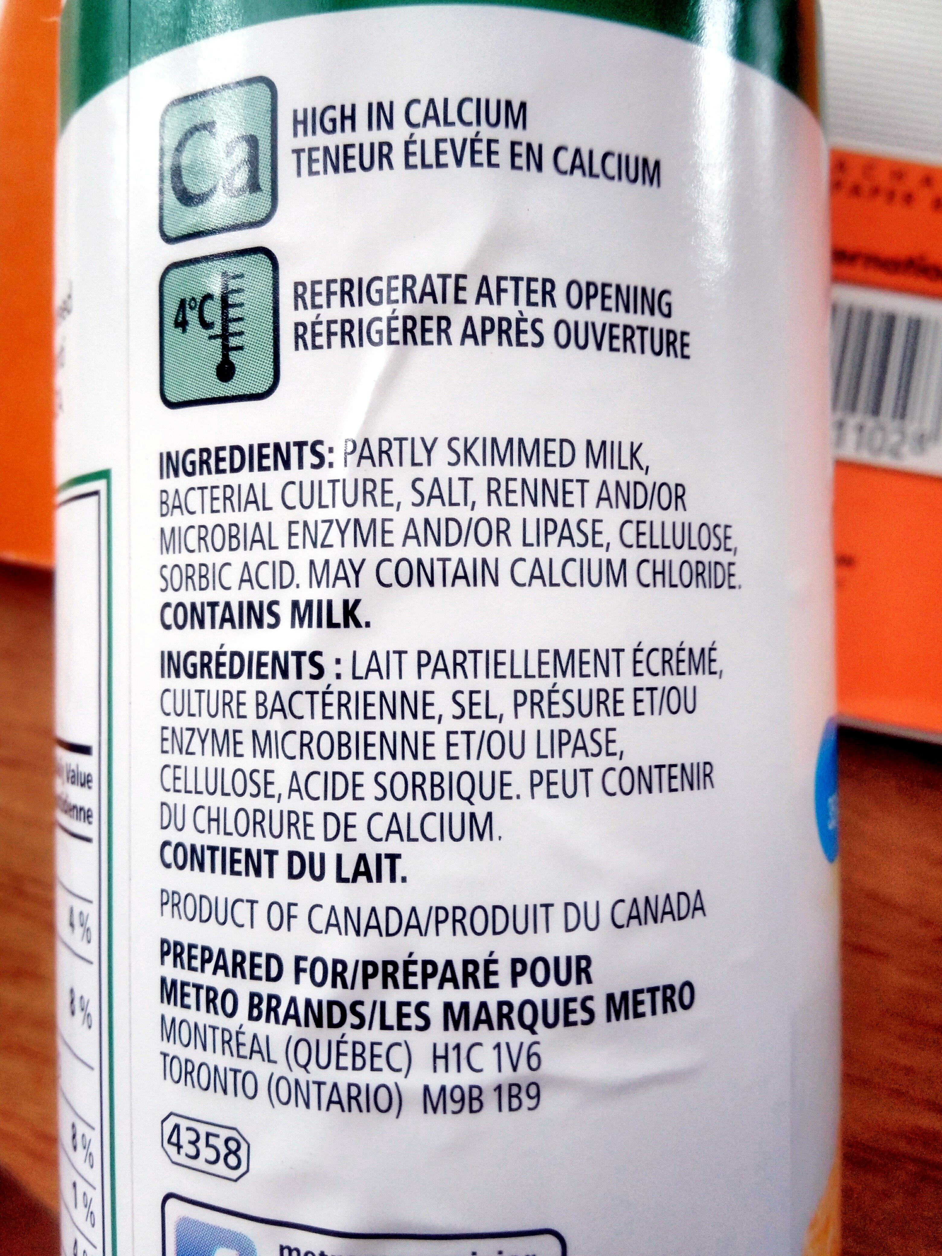 100% parmesan - Ingredients - fr