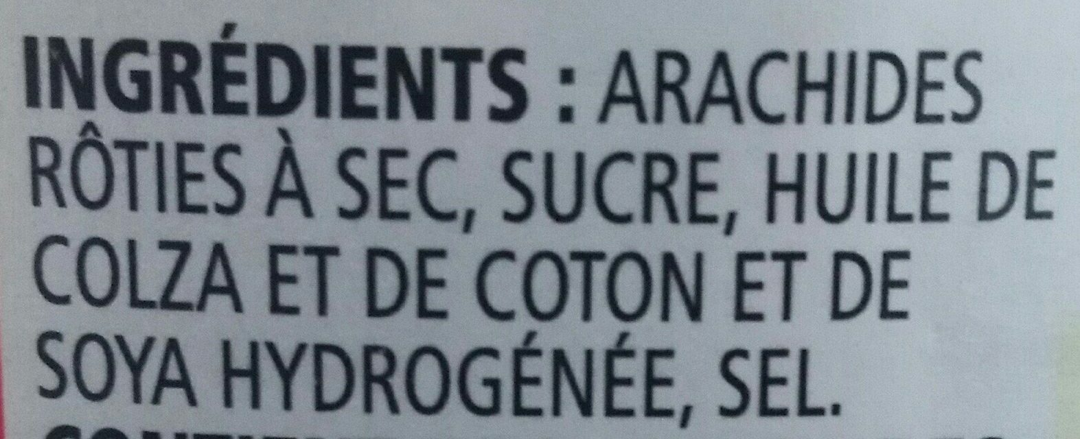 Selection Peanut Butter 1KG Crunchy - Ingrédients - fr