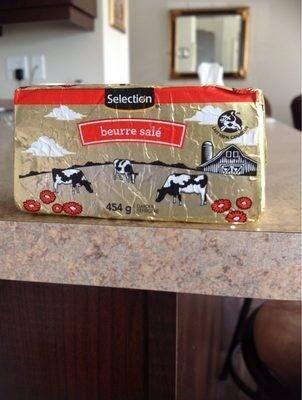 Beurre salé - Product - fr