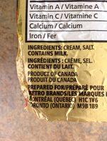 Beurre salé - Ingredients - fr
