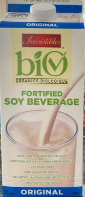 Fortified soy beverage - Produit