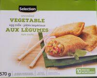 Pâtés impériaux aux légumes non cuits - Produit - fr