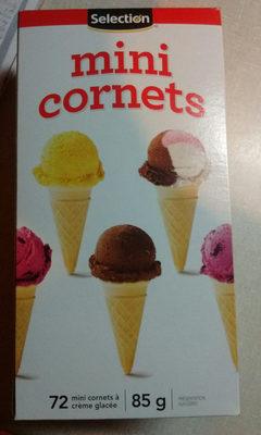 mini cornets - Product - fr