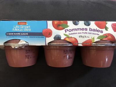 Pommes baies - Produit