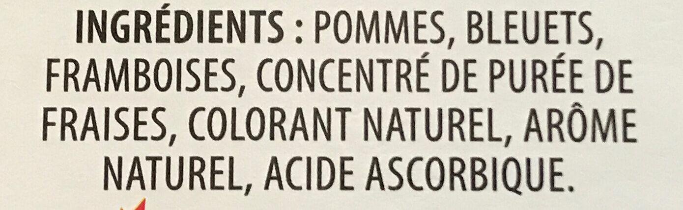 Pommes baies - Ingrédients