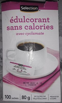 no calorie sweetener - Product - fr
