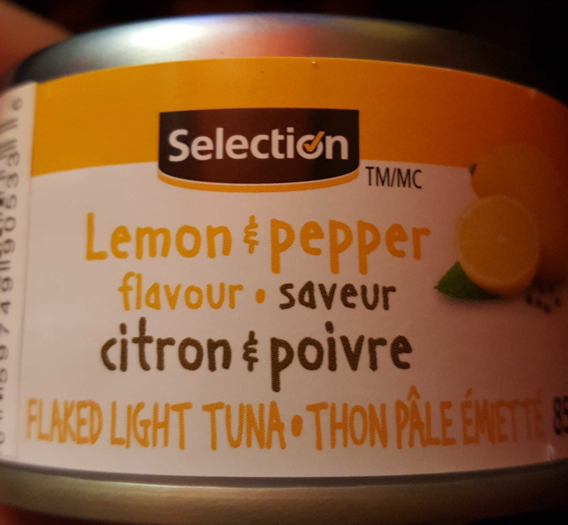 Lemon Pepper Tuna - Produit - en