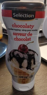 Sirop pour sundae - chocolat - Produit - fr