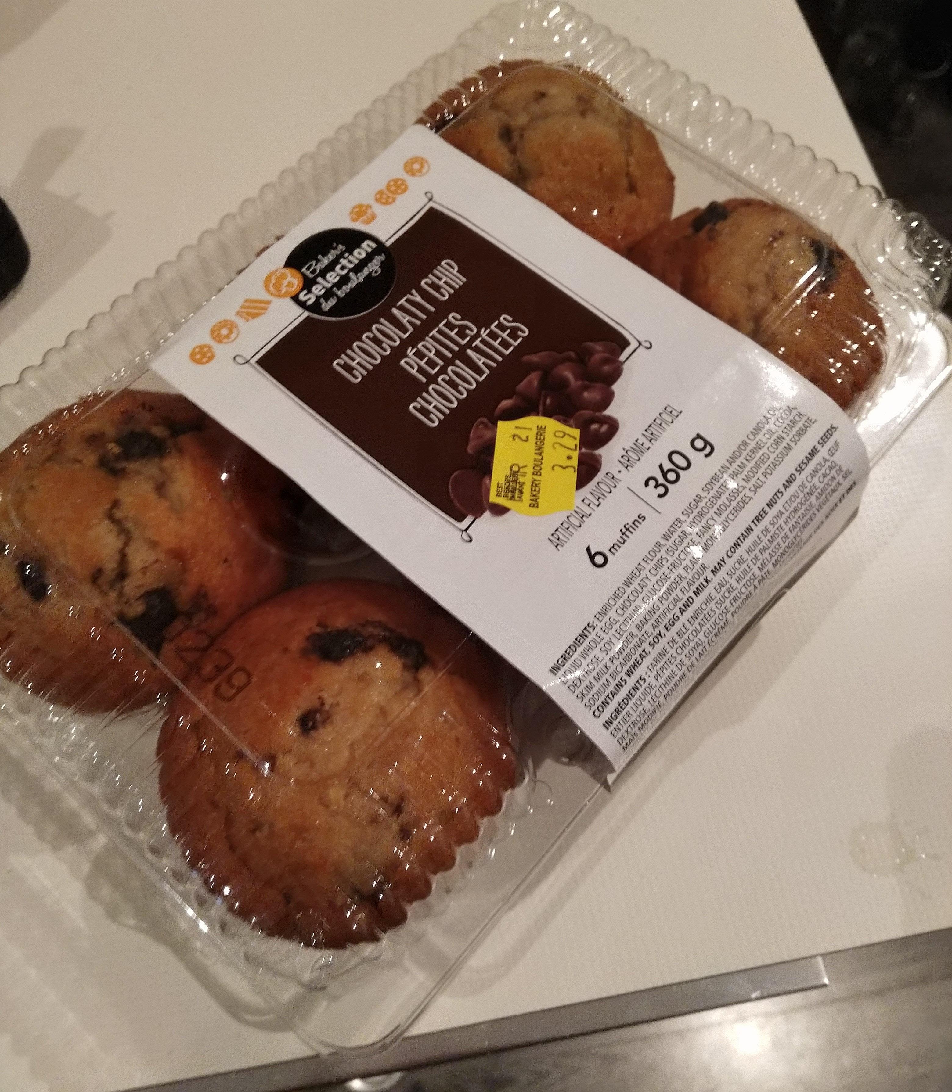 Muffins pépites chocolatées - Produit - fr