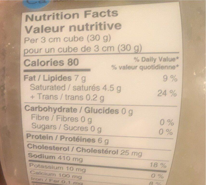 Fromage Fêta - Informations nutritionnelles - ca