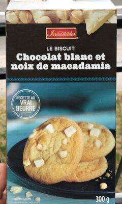 Le biscuit chocolat blanc et noix de macadam - Product - en