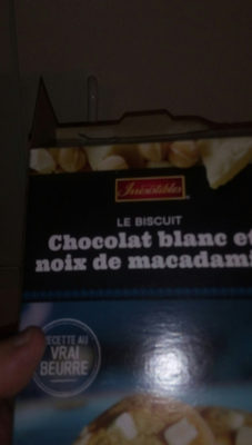 Le biscuit chocolat blanc et noix de macadam - Produit - fr