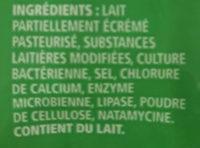 Italiano - Ingrédients - fr