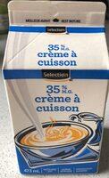 Crème à cuisson 35% - Produit - fr