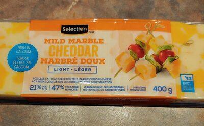 Cheddar marbré doux léger - Produit - fr