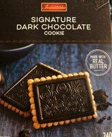 Le biscuit signature chocolat noir - Product - en