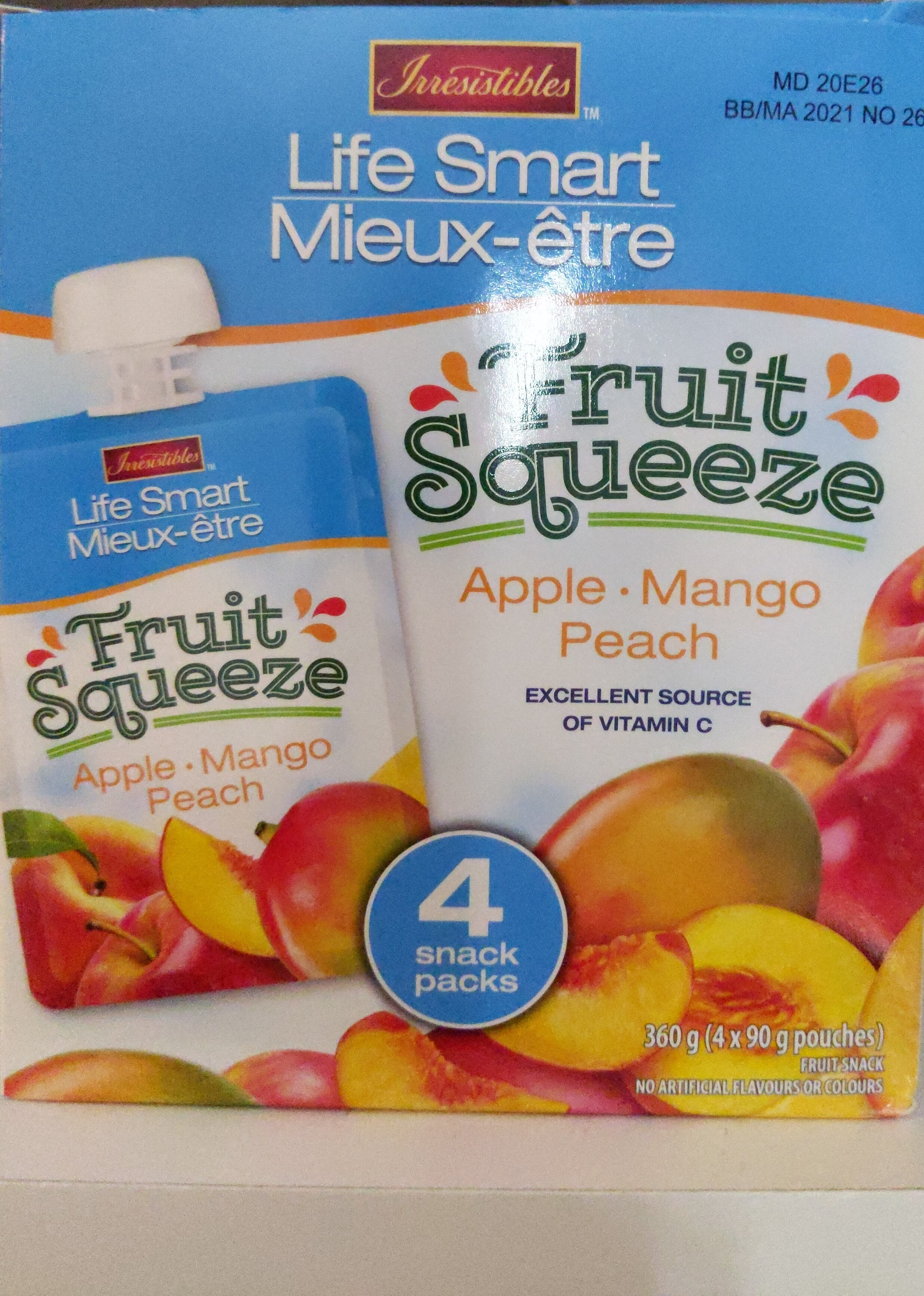 Life smart - Informations nutritionnelles - fr