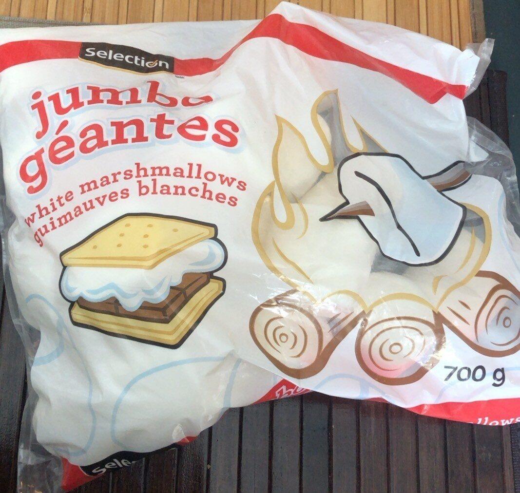 white marshmallows - Product - fr