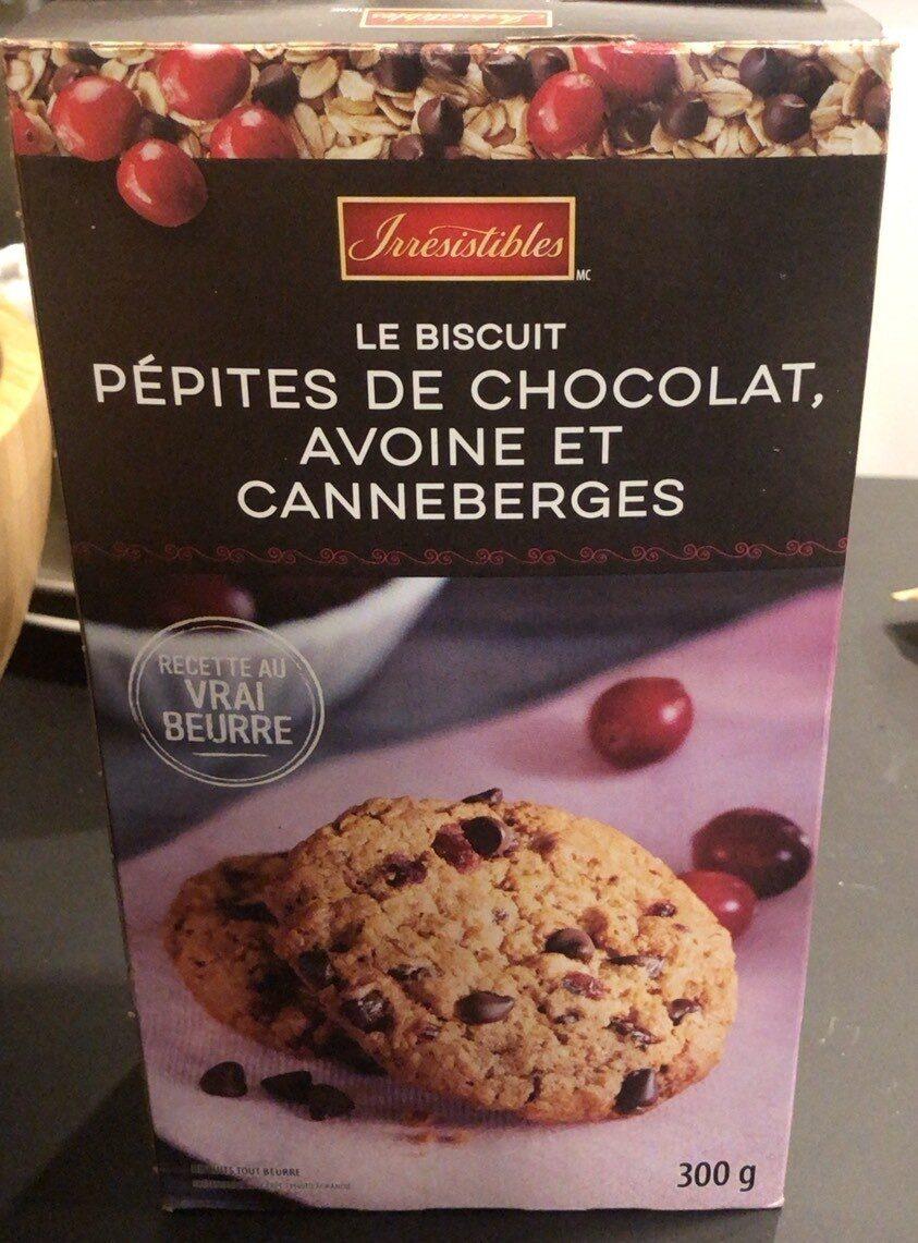 Le Biscuit pépites de chocolat, avoine et canneberge - Product - fr