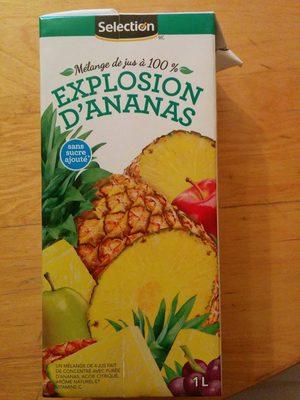 Mélange de jus 100% - Explosion d'ananas - Produit - fr