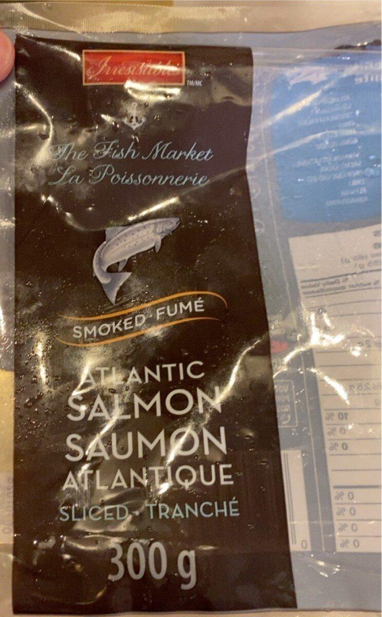 Saumon atlantique fumé - Produit - fr