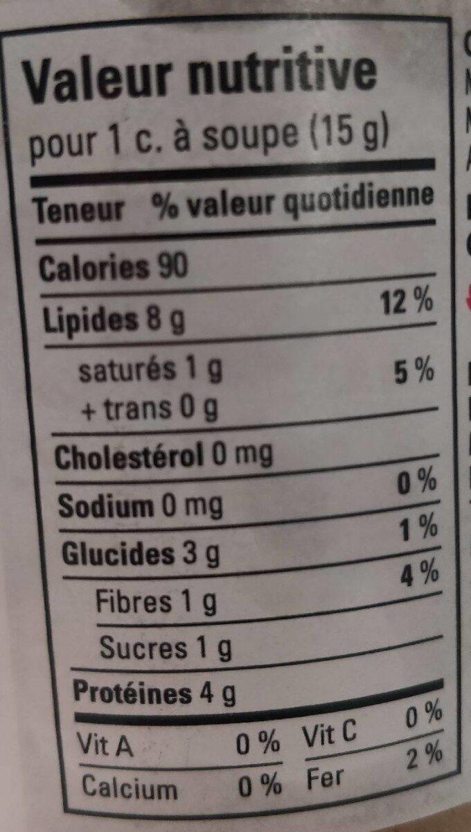 Peanut butter crunchy croquant - Informations nutritionnelles - ru