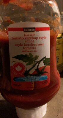 ketchup tomate - Produit - fr
