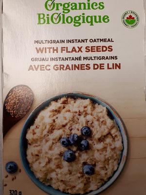 Gruau instantané multigrains avec graine de lin - Product