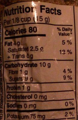 Pepites de chocolat - Informations nutritionnelles - fr