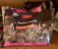 Chocolate almonds - Produit - fr