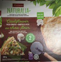 Croutes a pizza au chou fleur - Produit - fr