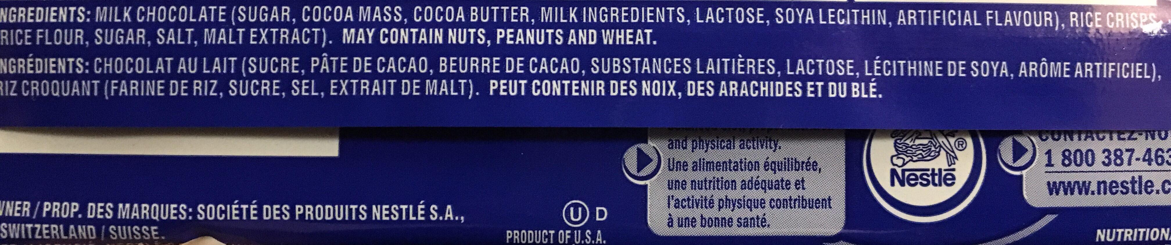 Crunch - Ingredients - en