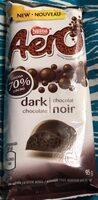 Aero chocolat noir 70% - Product - fr