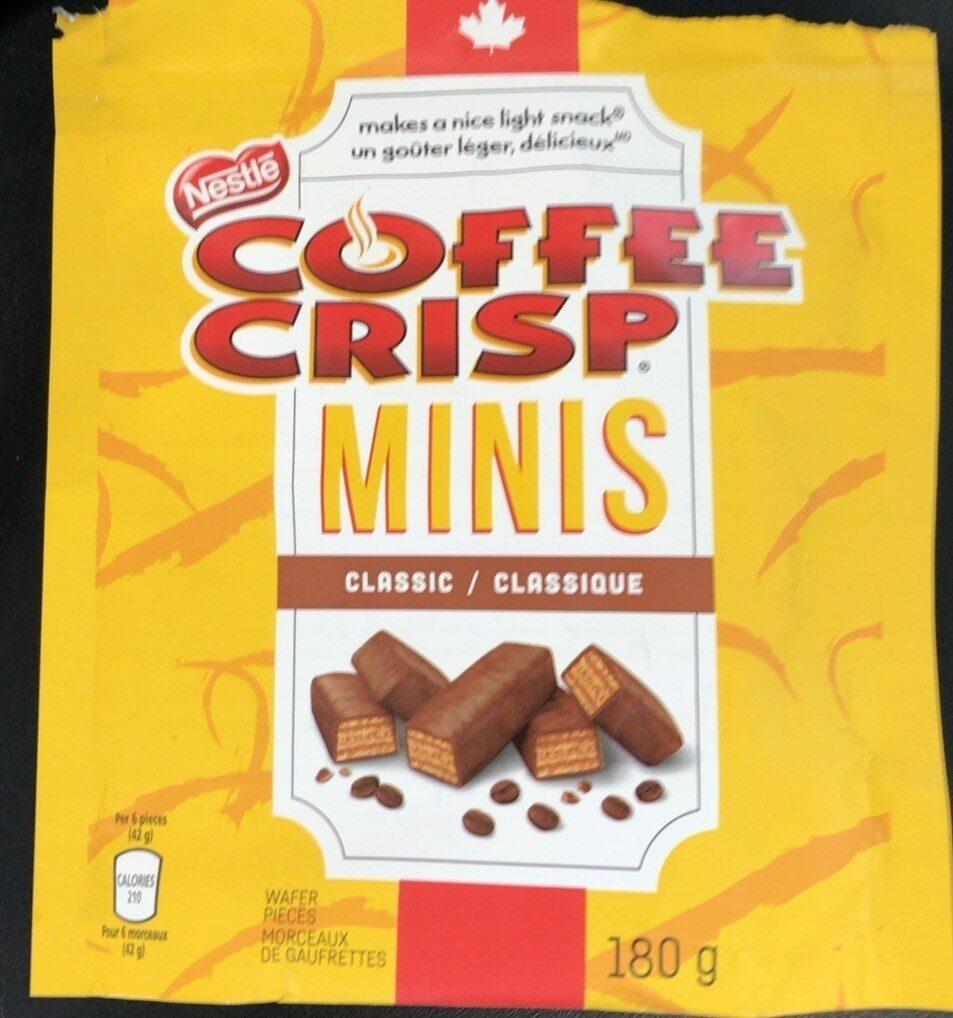 Coffee crisp minis - Product - en
