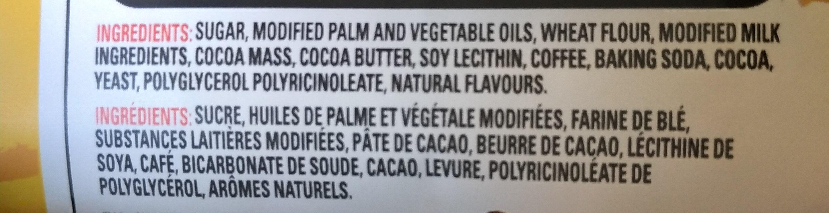 Coffee crisp minis - Ingredients - en
