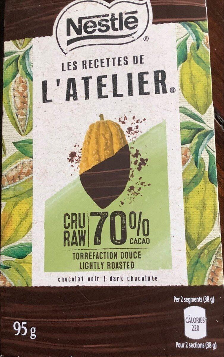 Chocolat noir - Product - fr