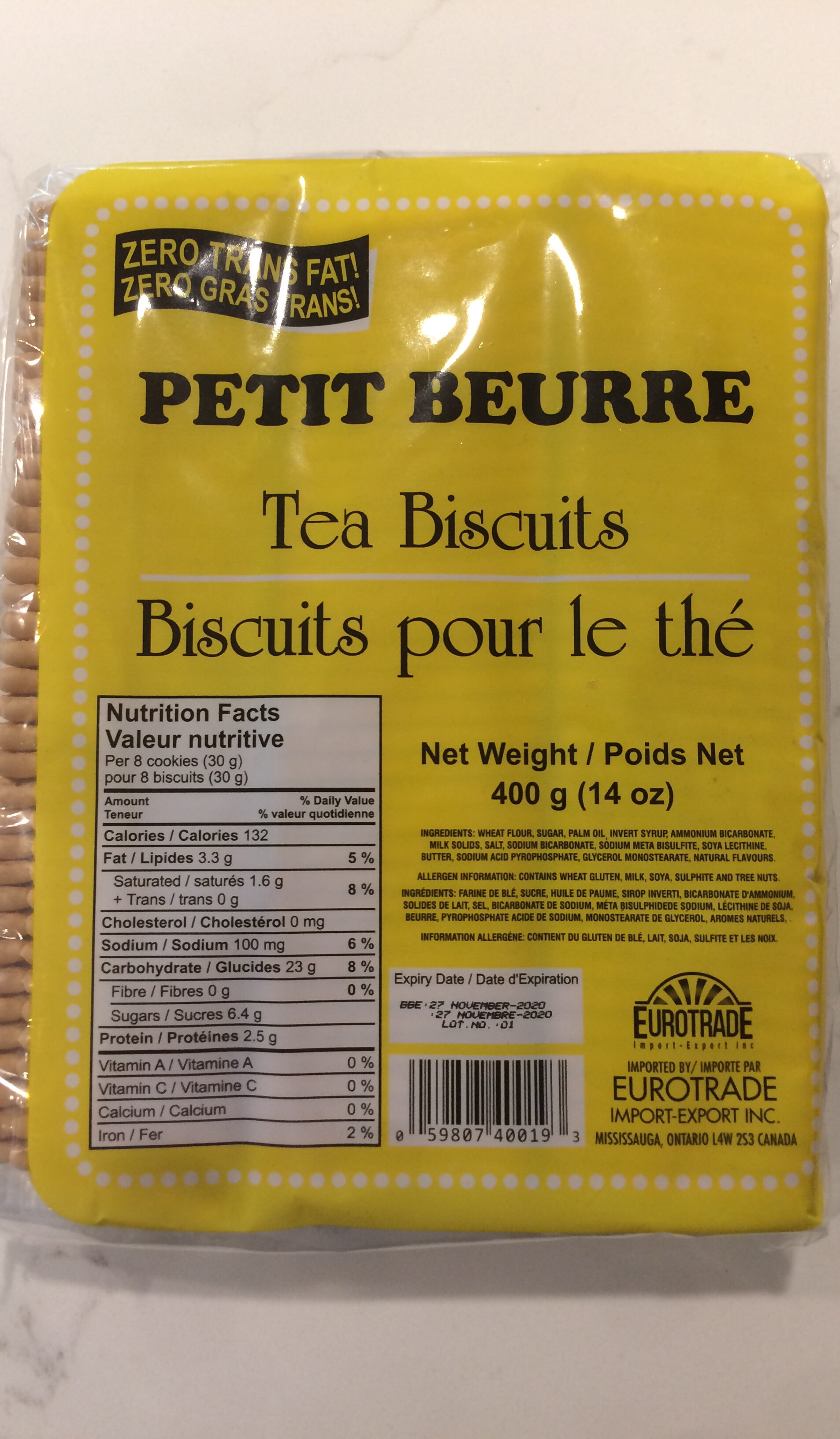 Tea biscuits - Product - en