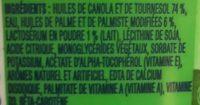 Margarine Sans Sel - Ingrédients - fr