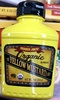 Trader joe's, organic yellow mustard - Product
