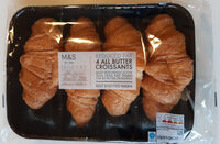 Reduced Fat 4 All Butter Croissants - Product