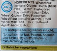 Reduced Fat 4 All Butter Croissants - Ingrediënten