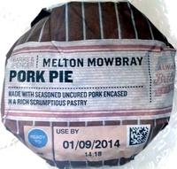 Melton Mowbray Pork Pie - Product - en