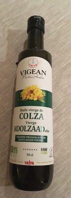 Huile vierge de colza - Product