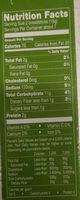 Italian breadsticks with olive oil - Nutrition facts - en