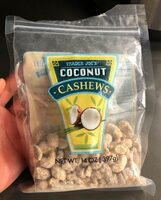 Coconut cashews - Product