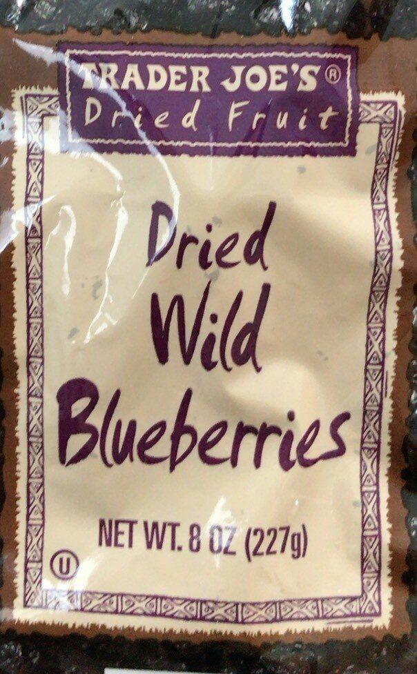 Dried Wild Bluberries - Product - en