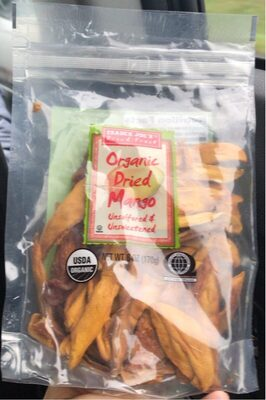 Organic dried mango - Product - en