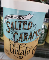 Trader Joe's Salted Caramel Gelato - Produit